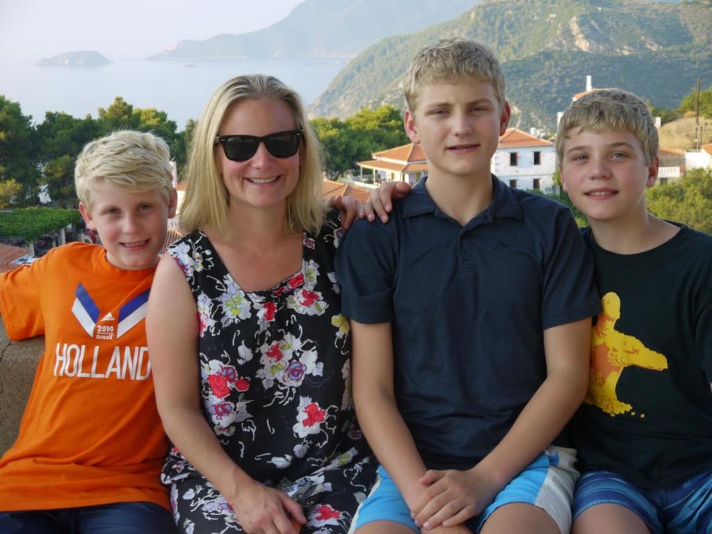 Angus, Rachel, Hamish & Thomas Vermey