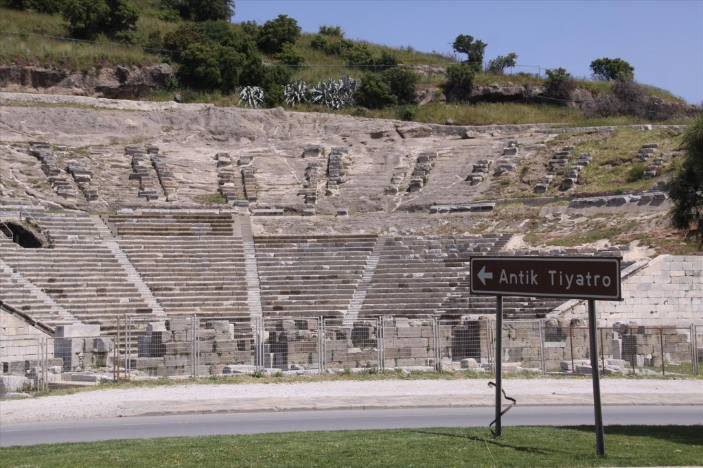 An Ancient Theatre in Bodrum