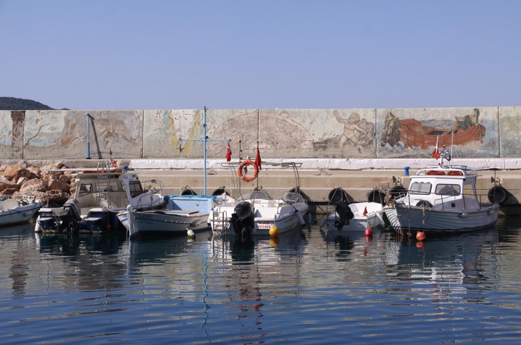 Murals Surrounding the Port Wall