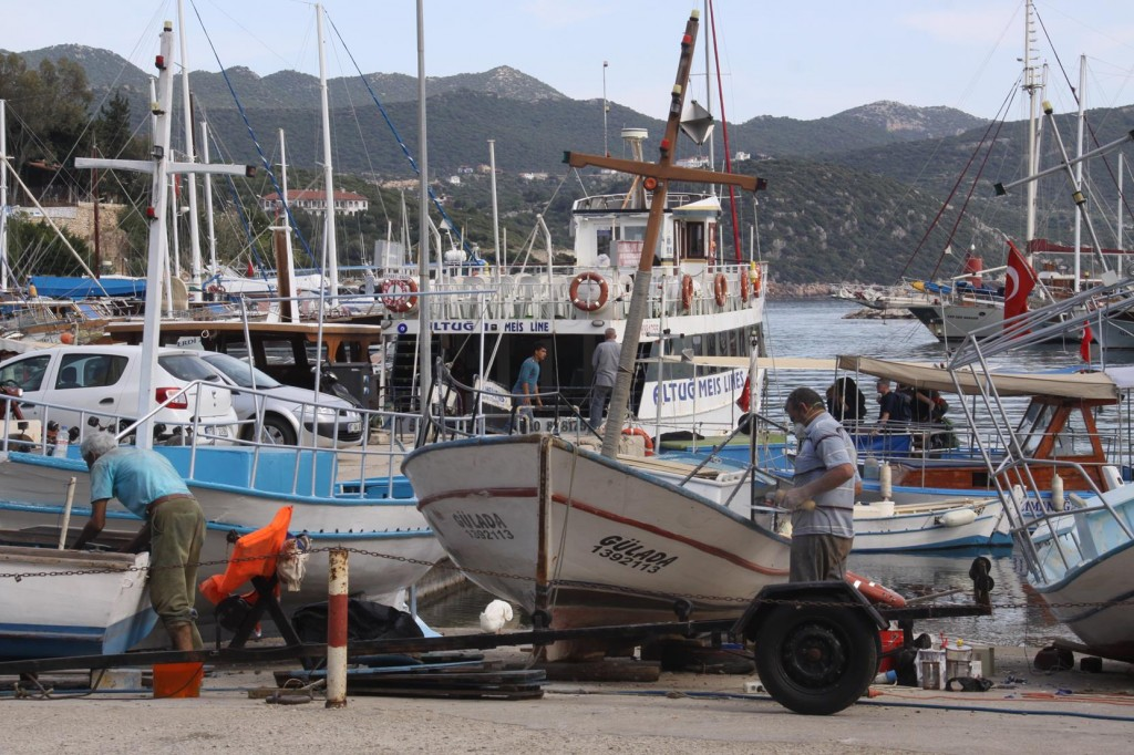 Much Maintenance is Done While Boats are in Port