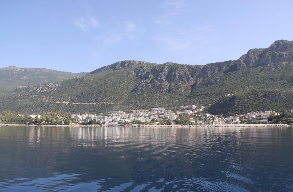 Looking Back to Kas
