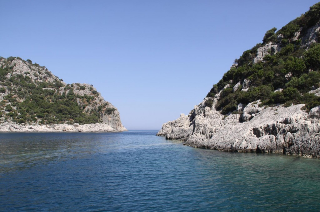 The Entrance to an Amazing Bay on Kekova Island