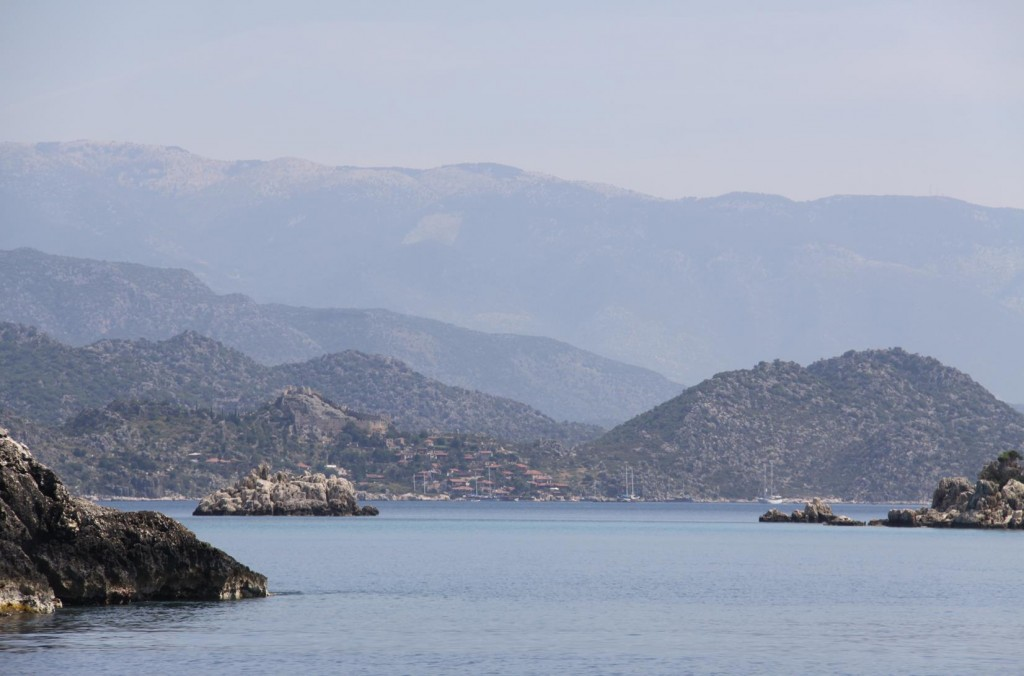 Approaching the Beautiful and Quite Historic Kekova Area