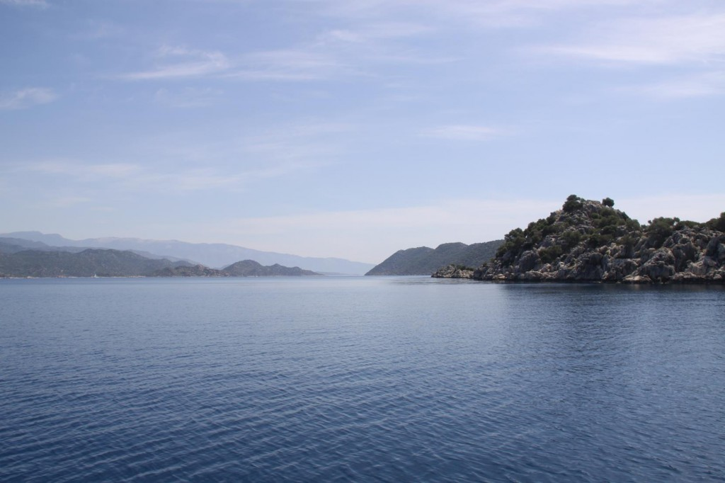 The Entrance to Kekova Roads