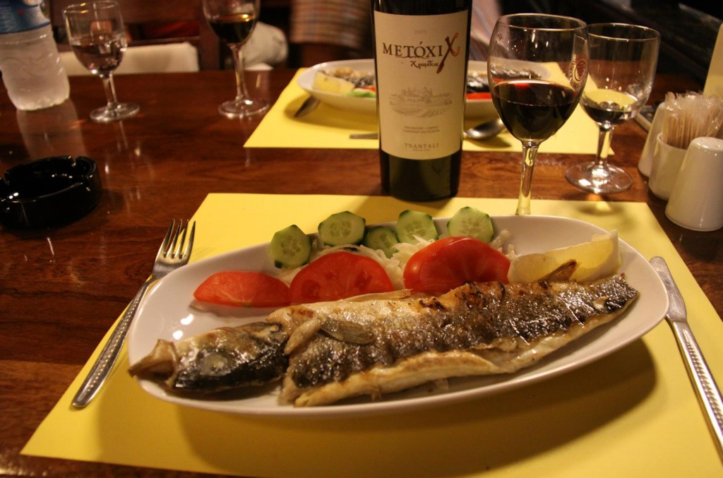 Fabulous Fresh Fish at Onur Restaurant