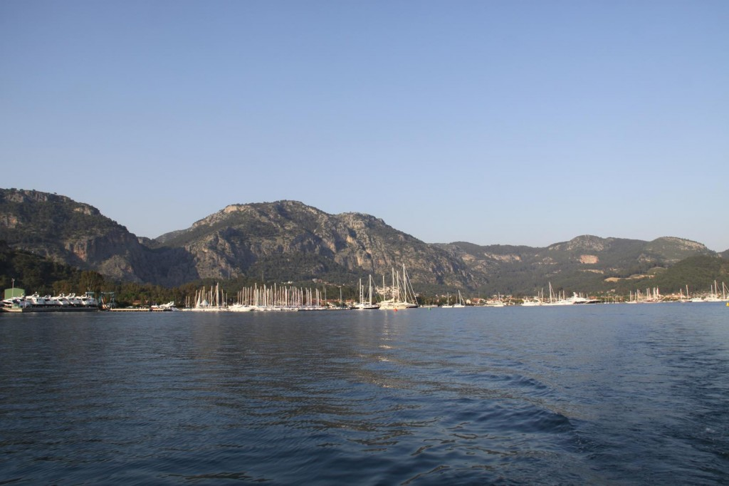 Looking Back Towards Gocek