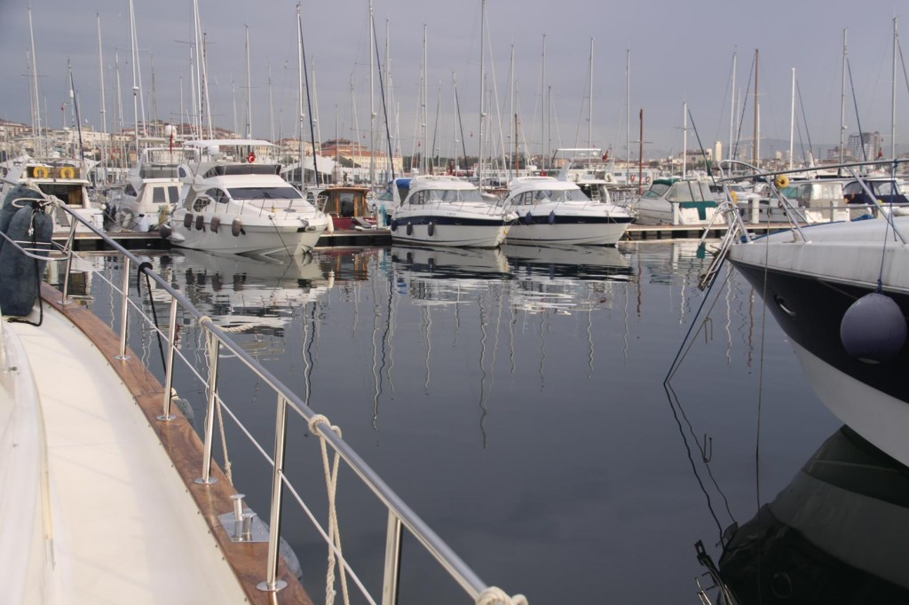 Another Pleasant Spring Morning in Pendik Marina