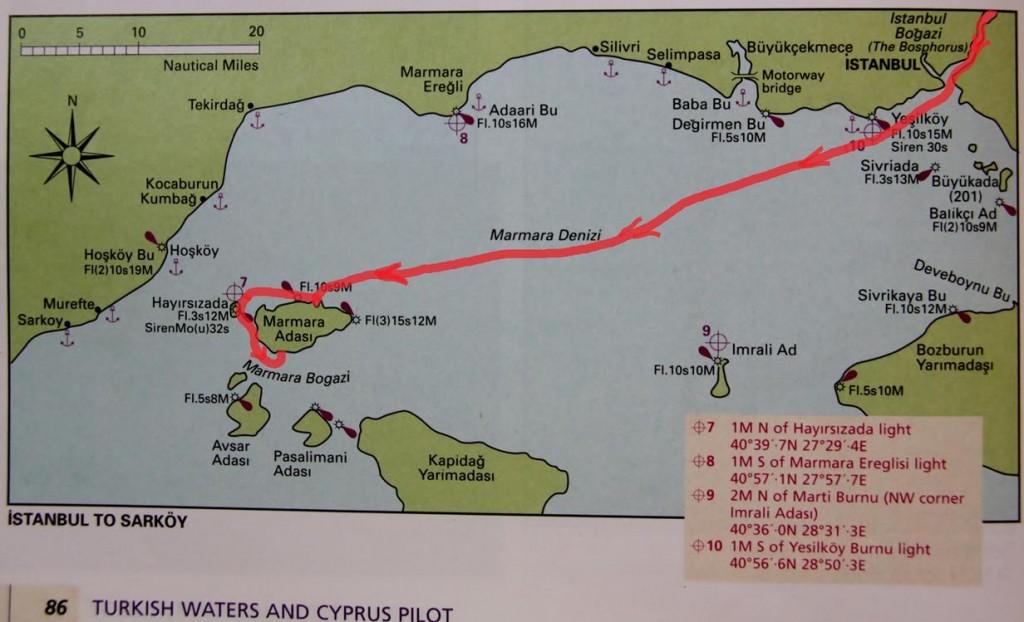 Bekek to Marmara Island