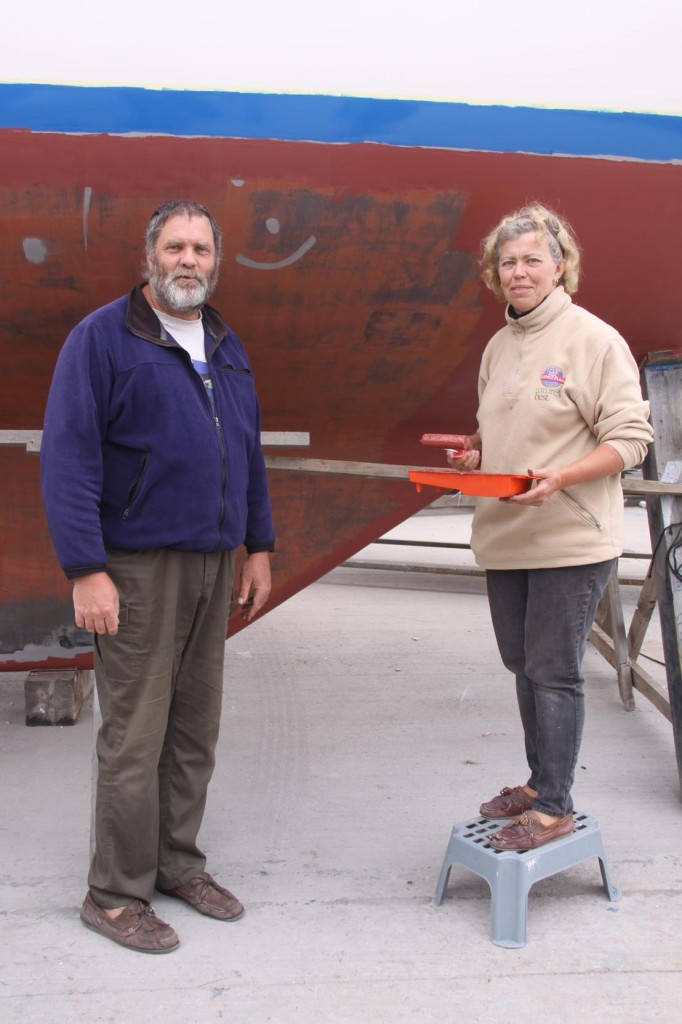 We Say Goodbye to Our New Friends Dean and Ann-Christin from the S/V Maringret