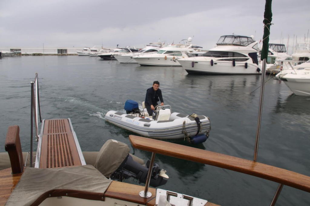 As Always the Marina Staff    Assist with your Departure