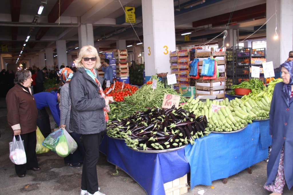 Fabulous Fresh Vegetables at the Market by the Marina