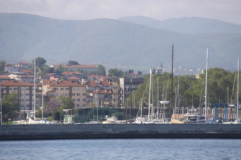 The Ferry Conveniently Berths beside the Setur Marina in Yalova