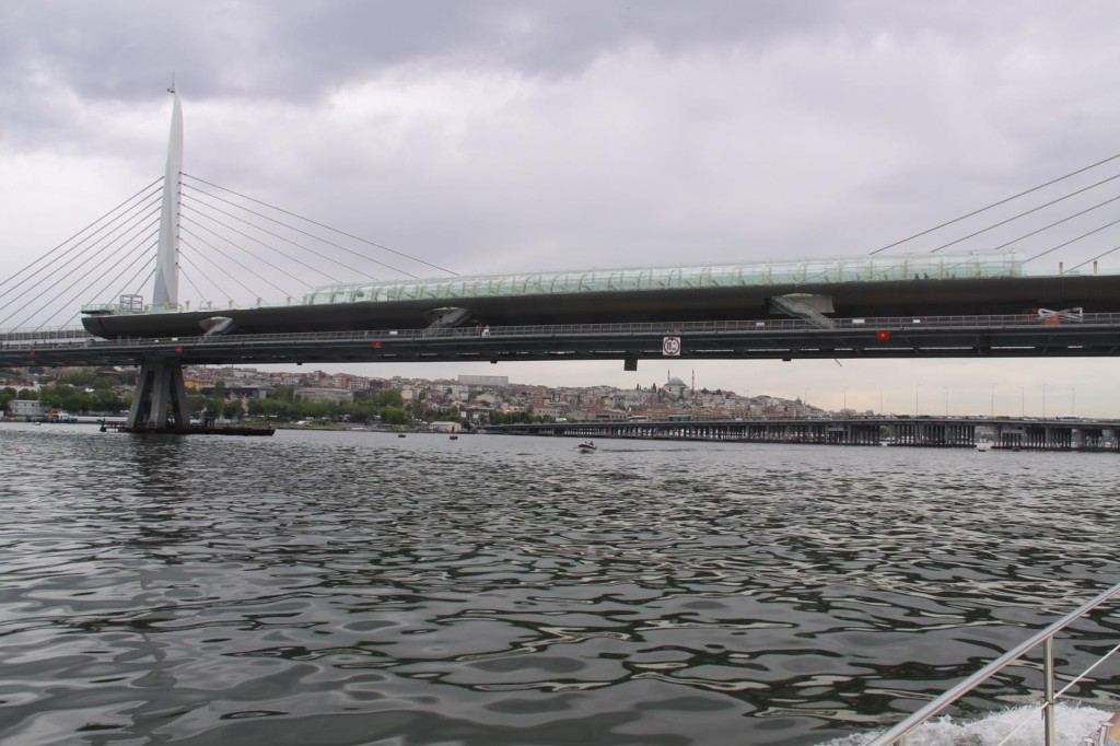 Several Bridges Span the Golden Horn which is one of the Largest Natural Harbours in the World