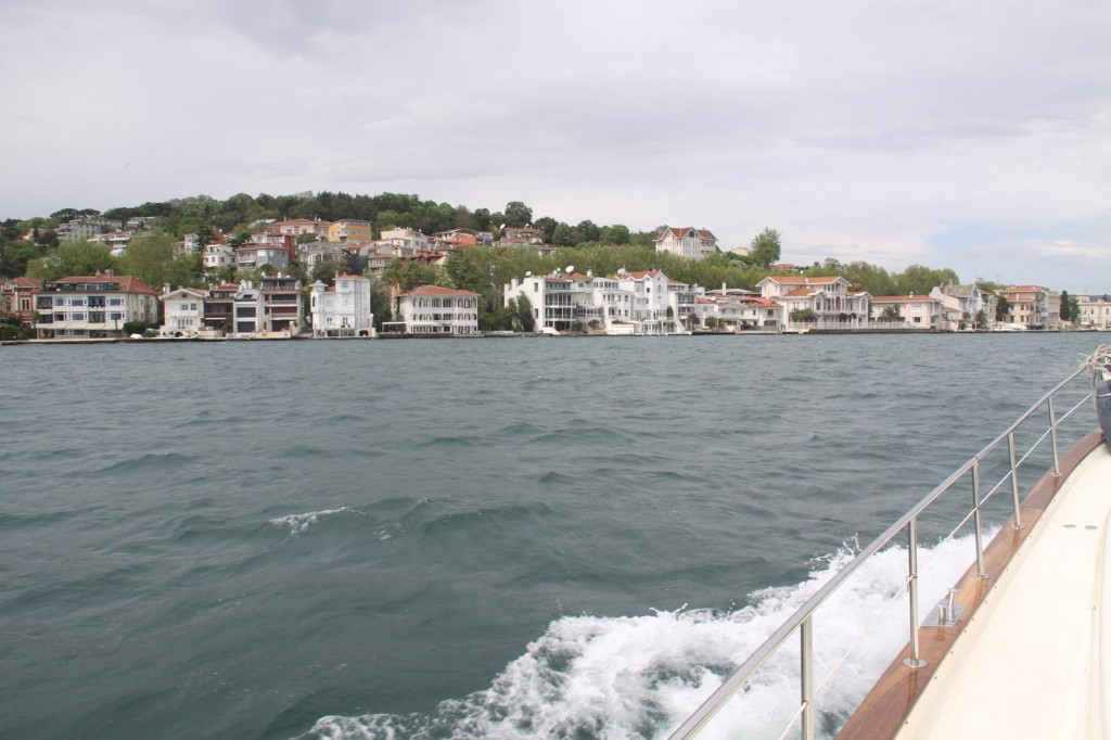 Continuing Up the Famous Waterway we Pass the Handsome 19th Century Houses in Yenikoy