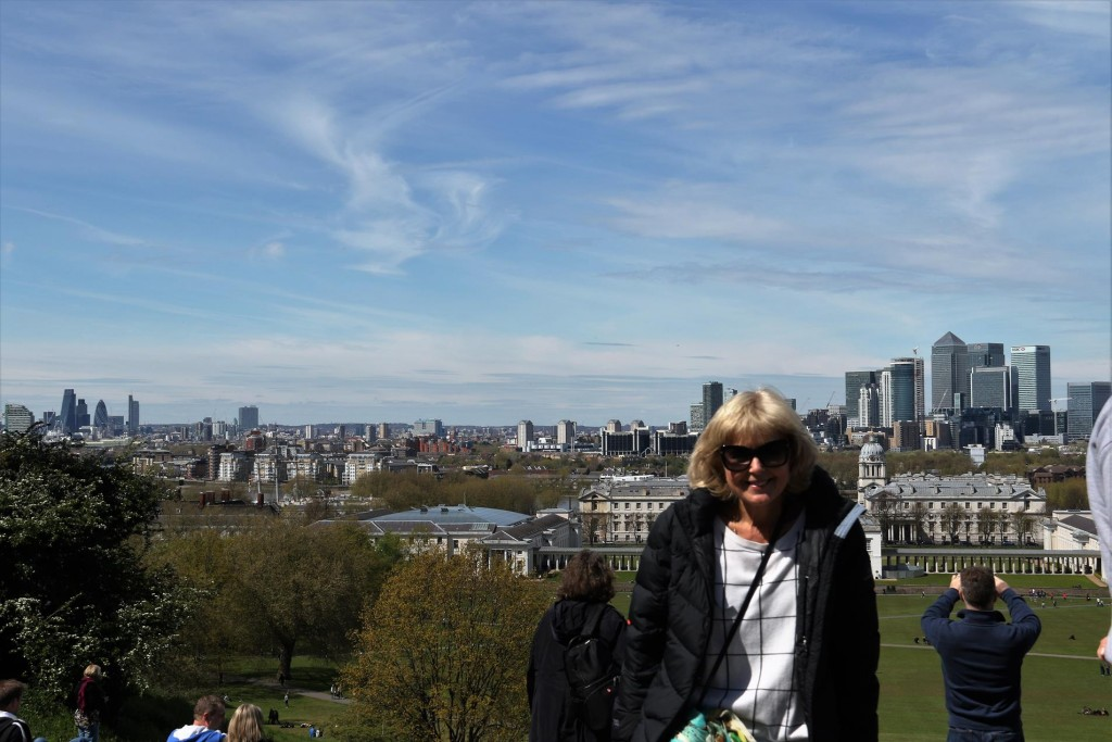 A wonderful view overlooking Greenwich