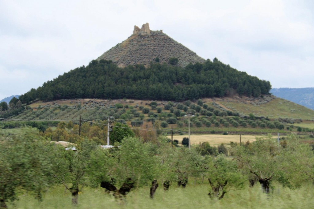 It is not long before we approach Barumini with it's ancient historical site