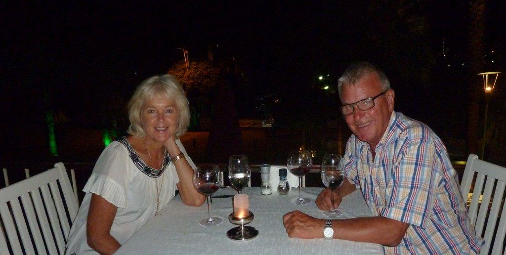 Our Last Dinner in Gocek