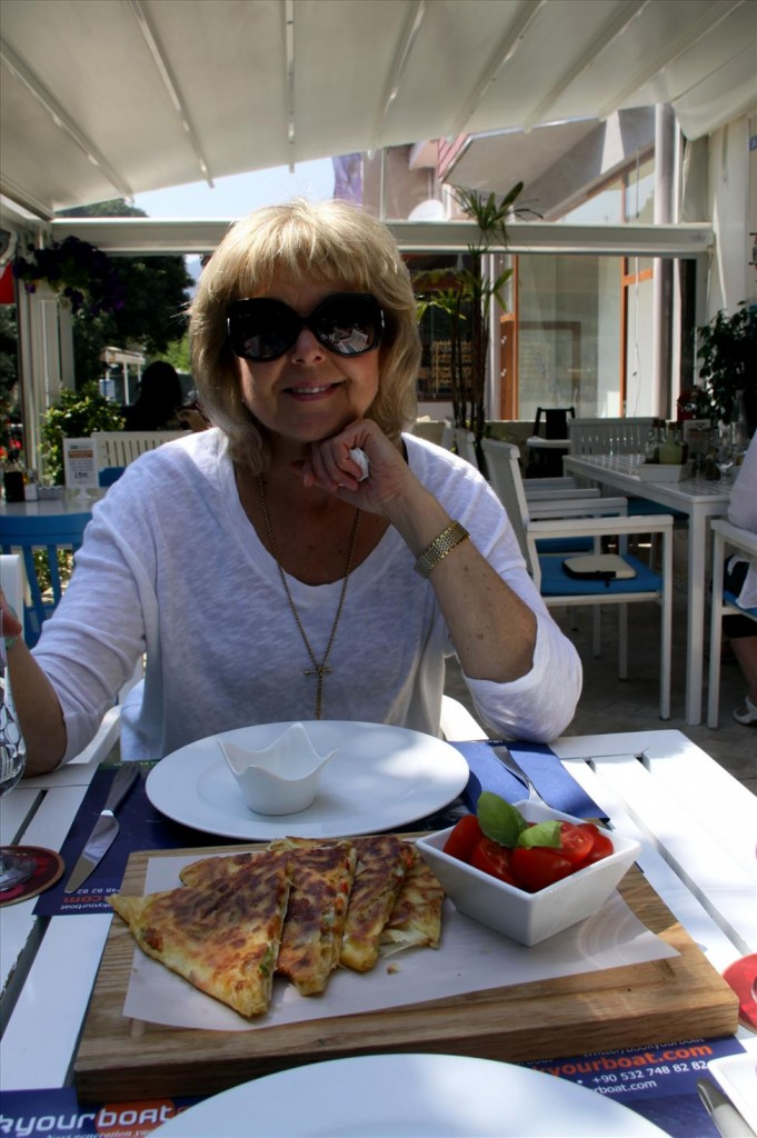 Lunch at  West Cafe, Gocek