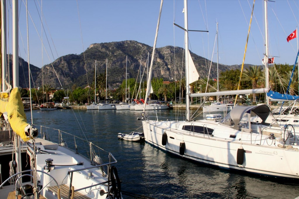 The Weather is Improving Here in Gocek
