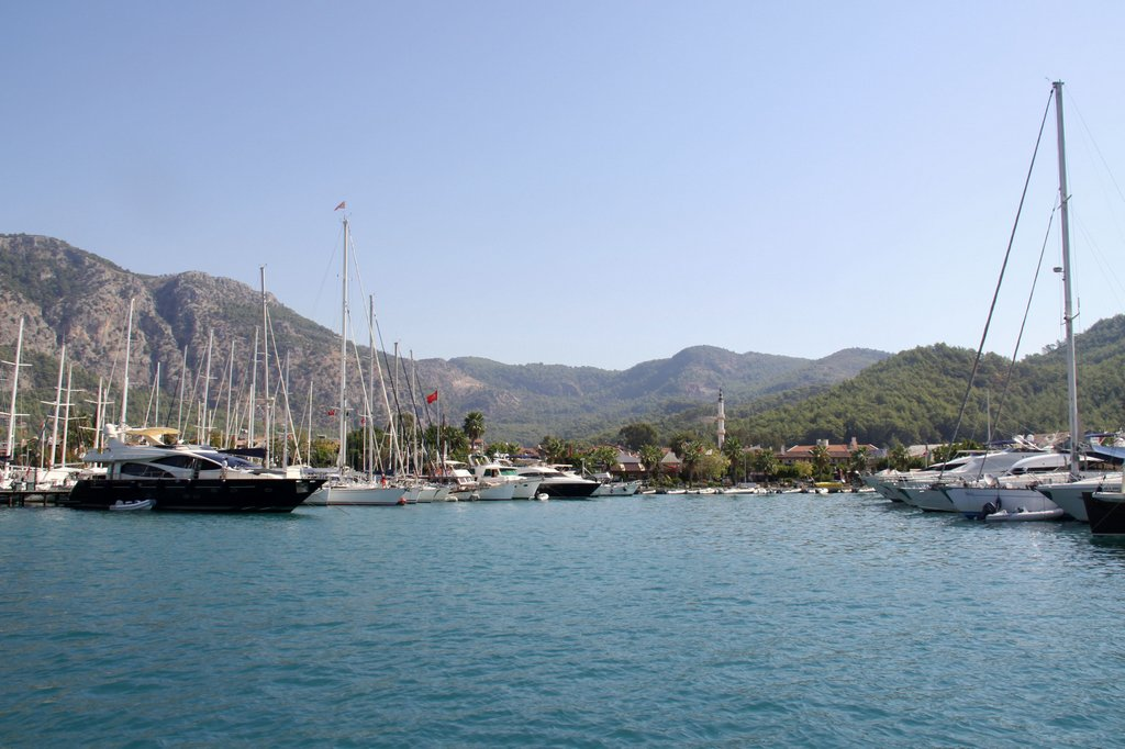 Back into the Municipal Marina in Gocek to Start the Prcess of Packing Up the Tangaroa