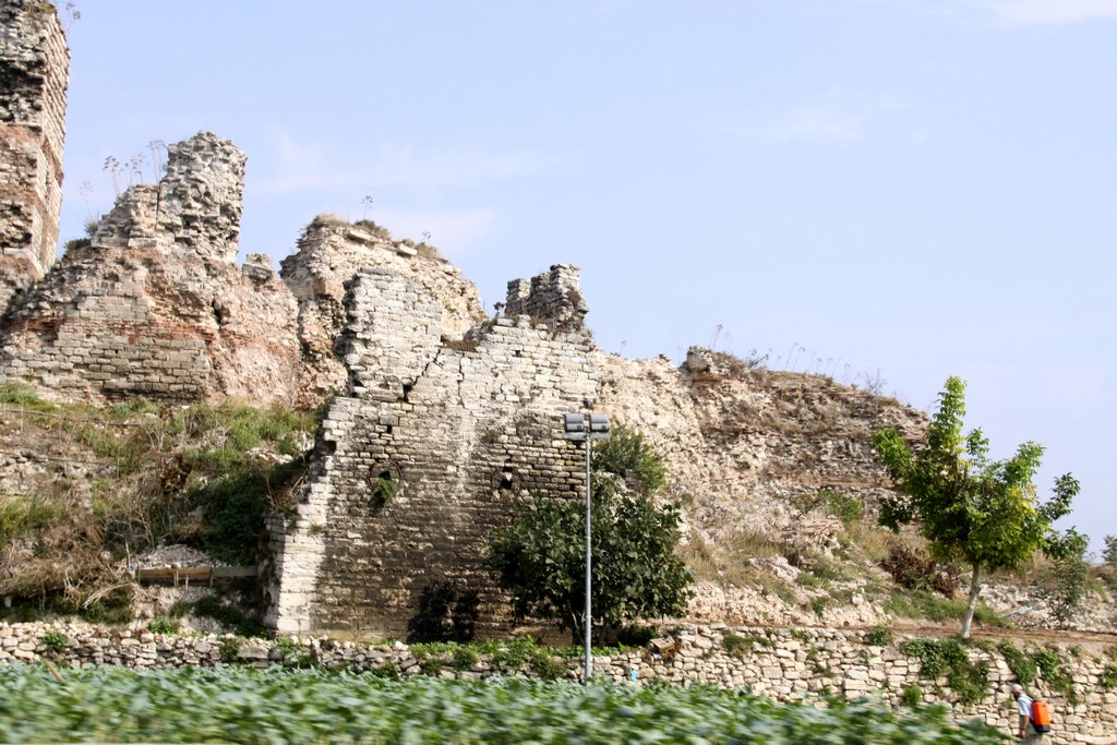 In Many Parts of the City are the Remains of Ancient Walls