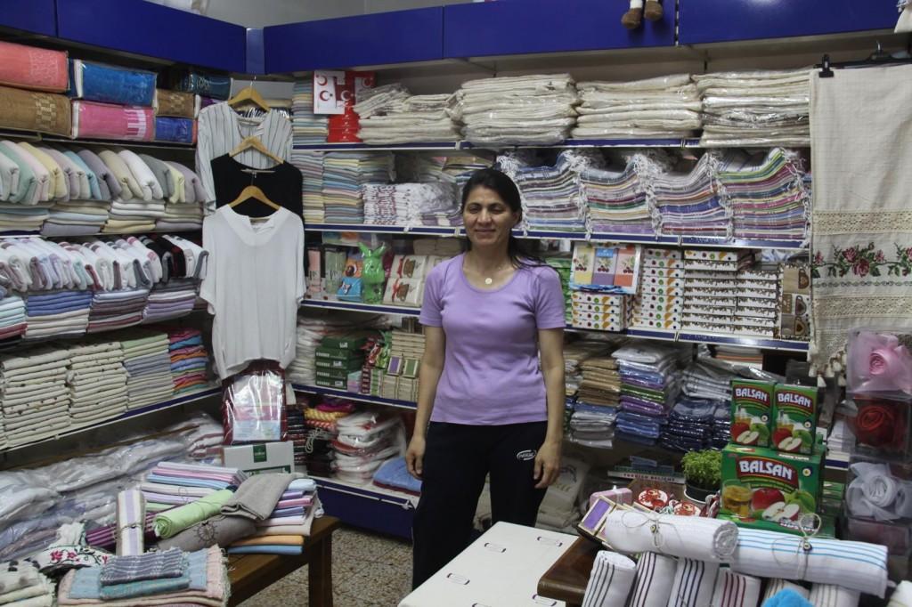 A Delightful Local Shop Owner in Gocek