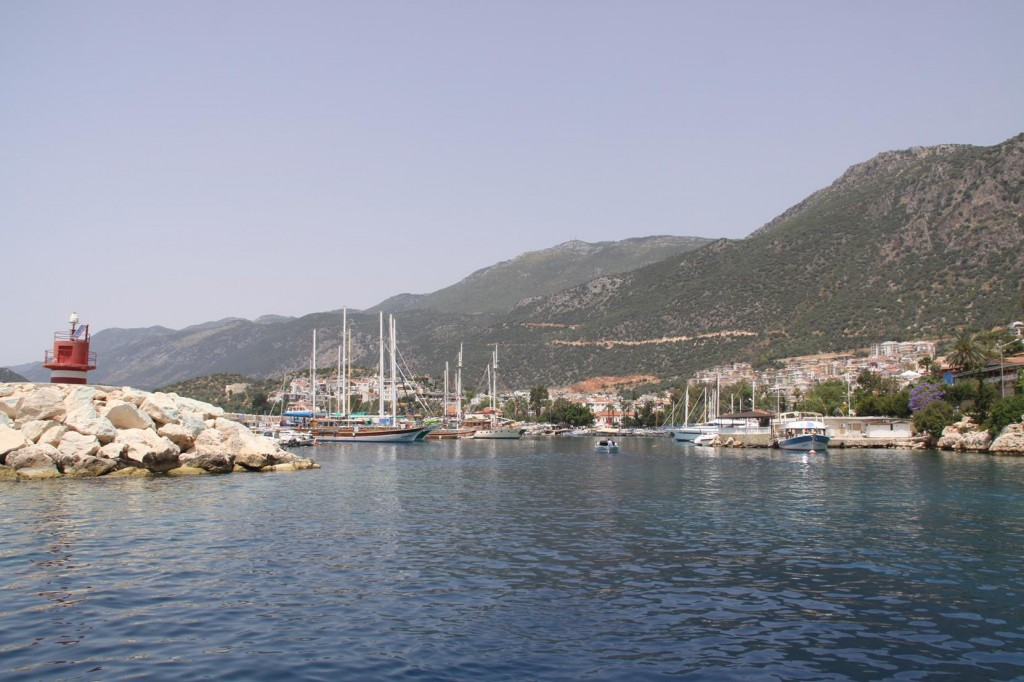 Departing the Ancient Kas Port