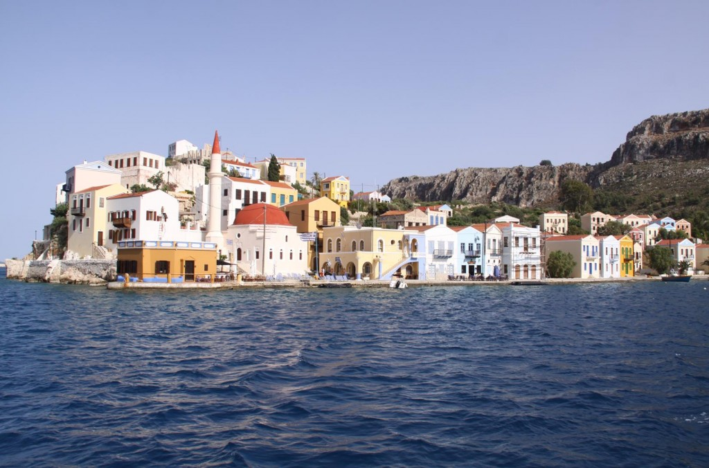 The Old Port of Kastellorizon  is Quite Spectacular When One Comes in By Boat