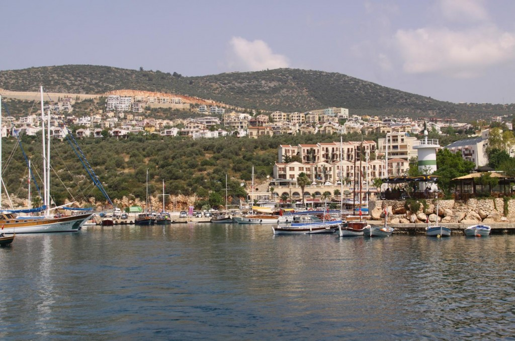 Our Departure from Kalkan