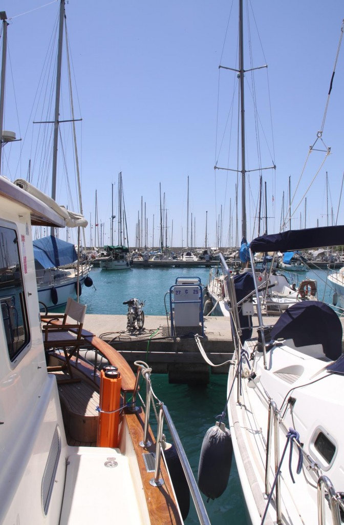 Finike Marina is a Popular Home for Live Aboard Sailors