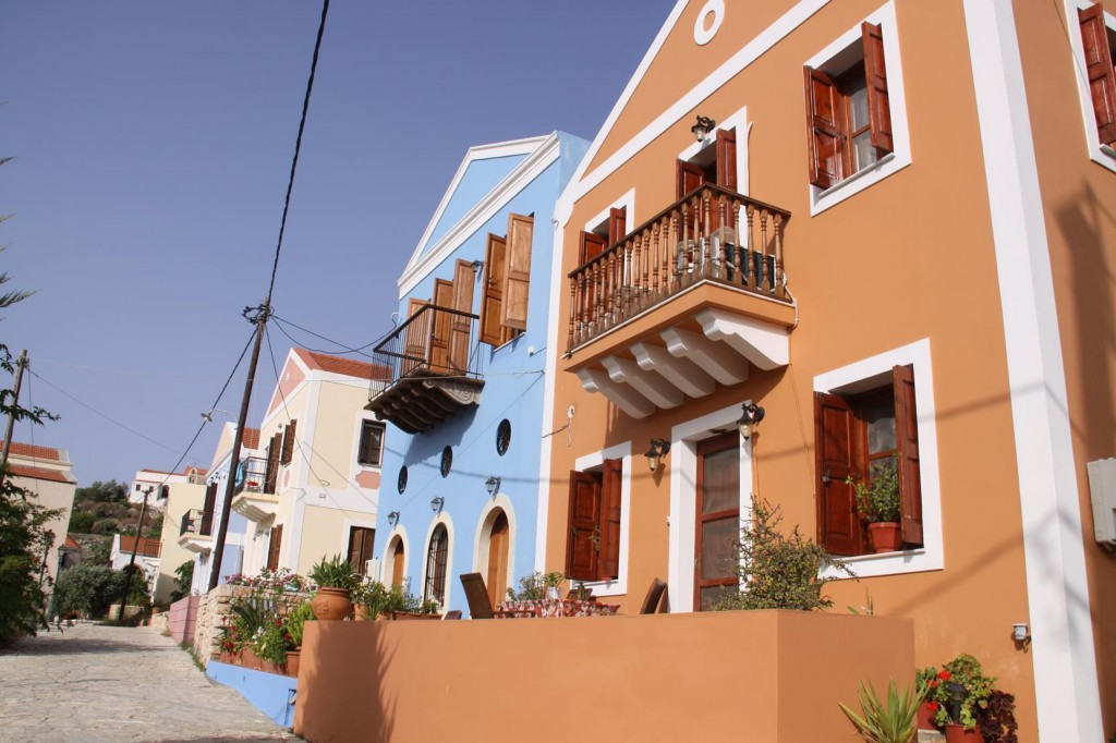 Multi Coloured Houses Make this Town Look Enchanting