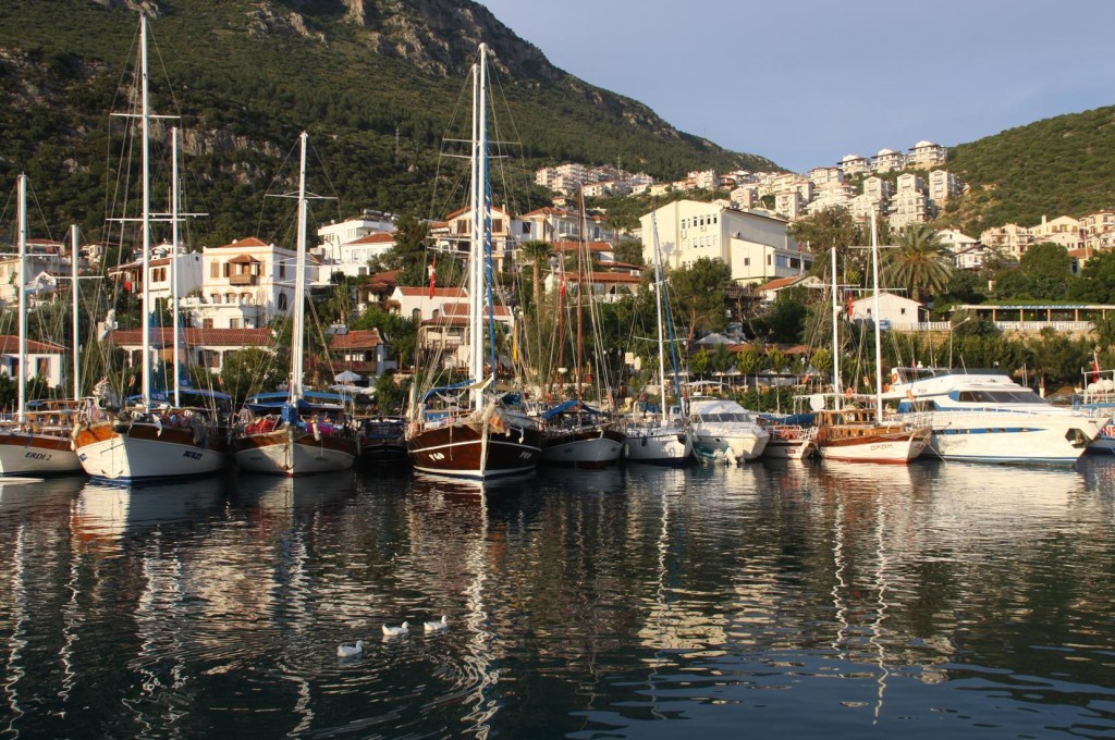 It is so Lovely to be in the Old Port at Kas