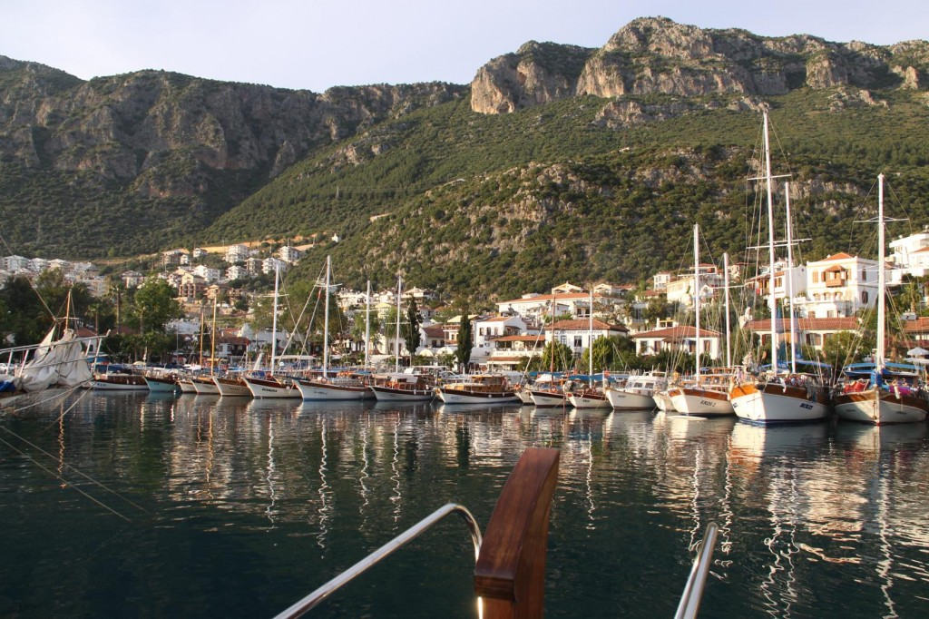 The Port in Kas Looks Similar to  the One in Kalkan