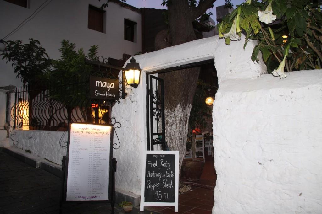 The Maya Steak House in Kas is Great