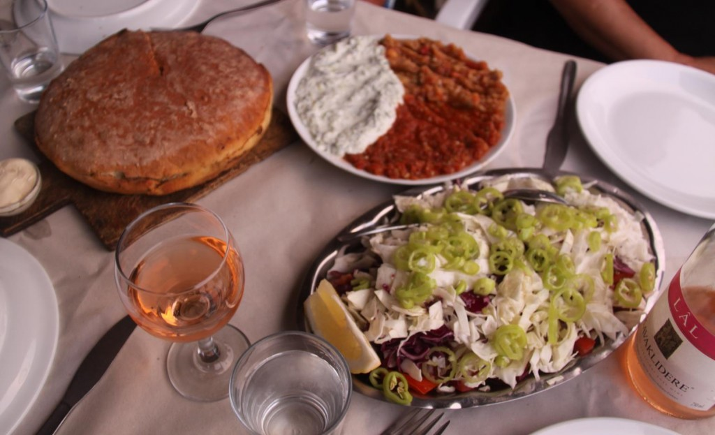 We Share the Tasty Mezes on Offer