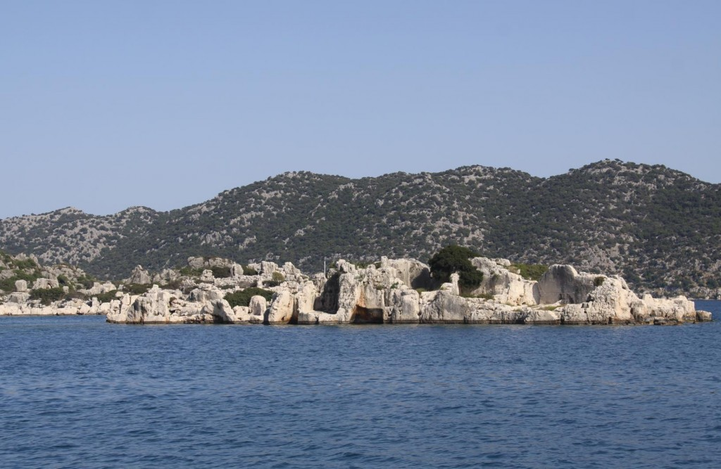 A Small Islet Previously Inhabited in Ancient Times