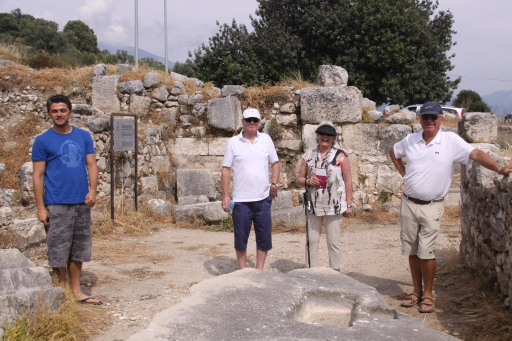 An Afternoon of Touring the Ancient Sites Near Kalkan