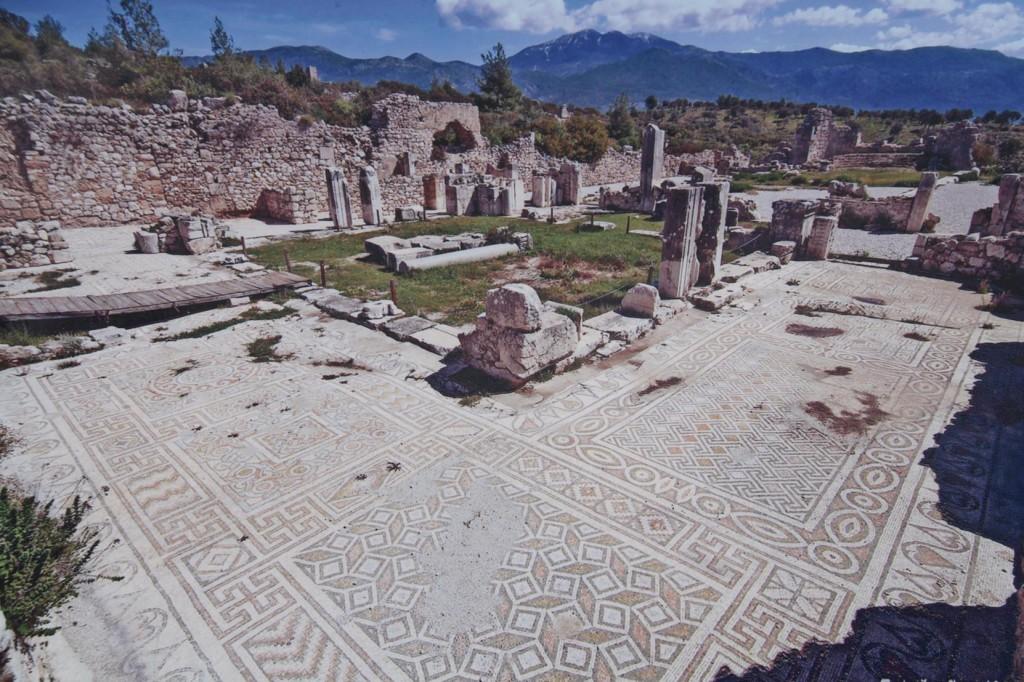 Beautifully Preserved Mosaics at Xanthos