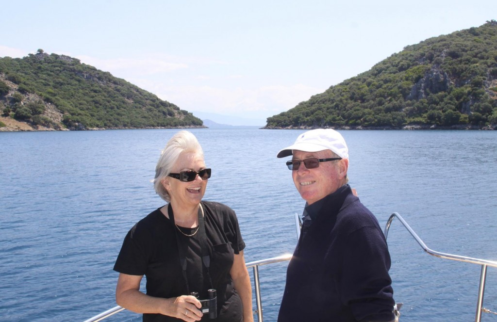 Our Guests Enjoying the Wonderful Scenery