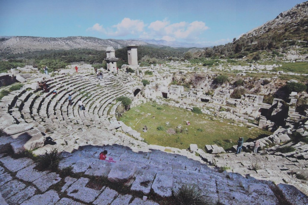 The Ancient Roman Theatre at Xanthos