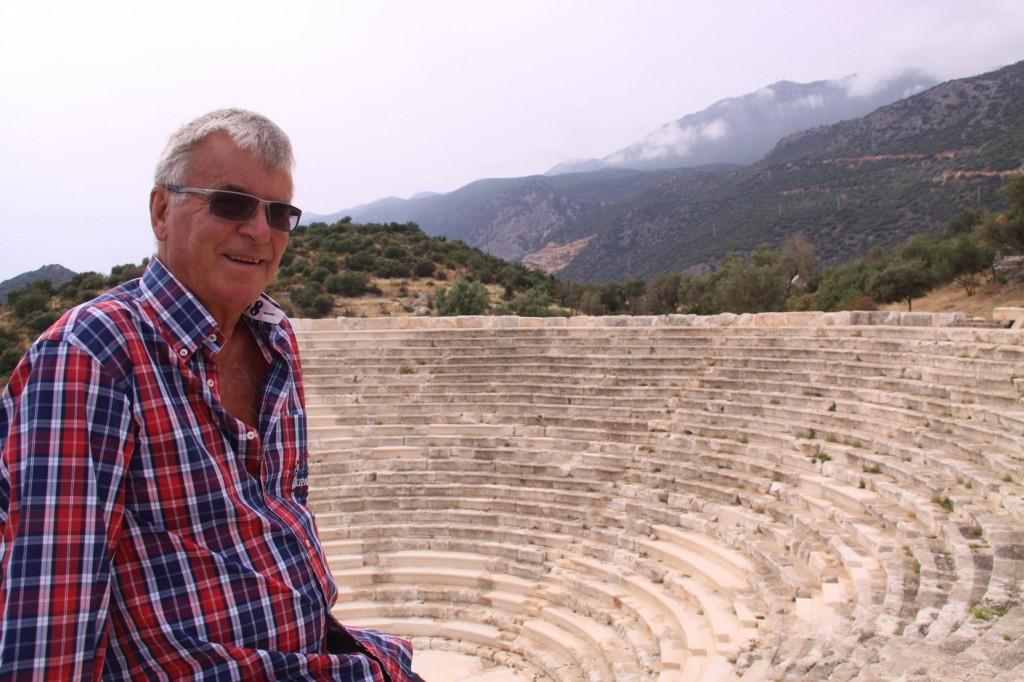 Ric at the Kas Theatre