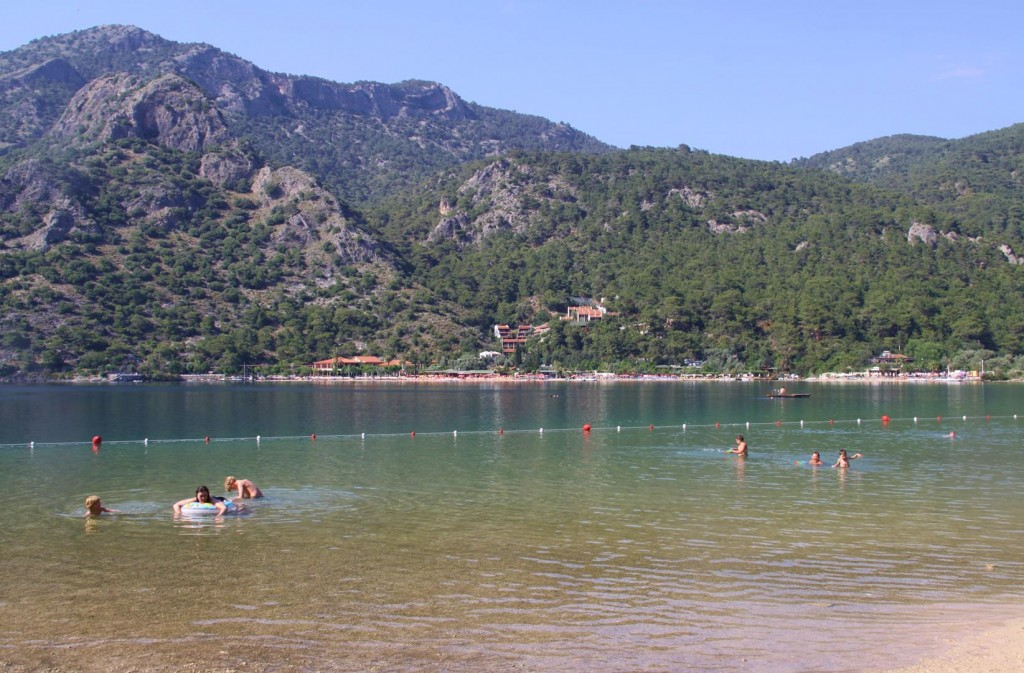 You no Longer can take a Boat to the Inland Part of Olu Deniz