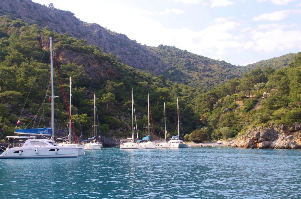 Coldwater Bay, Our Mooring for the Night