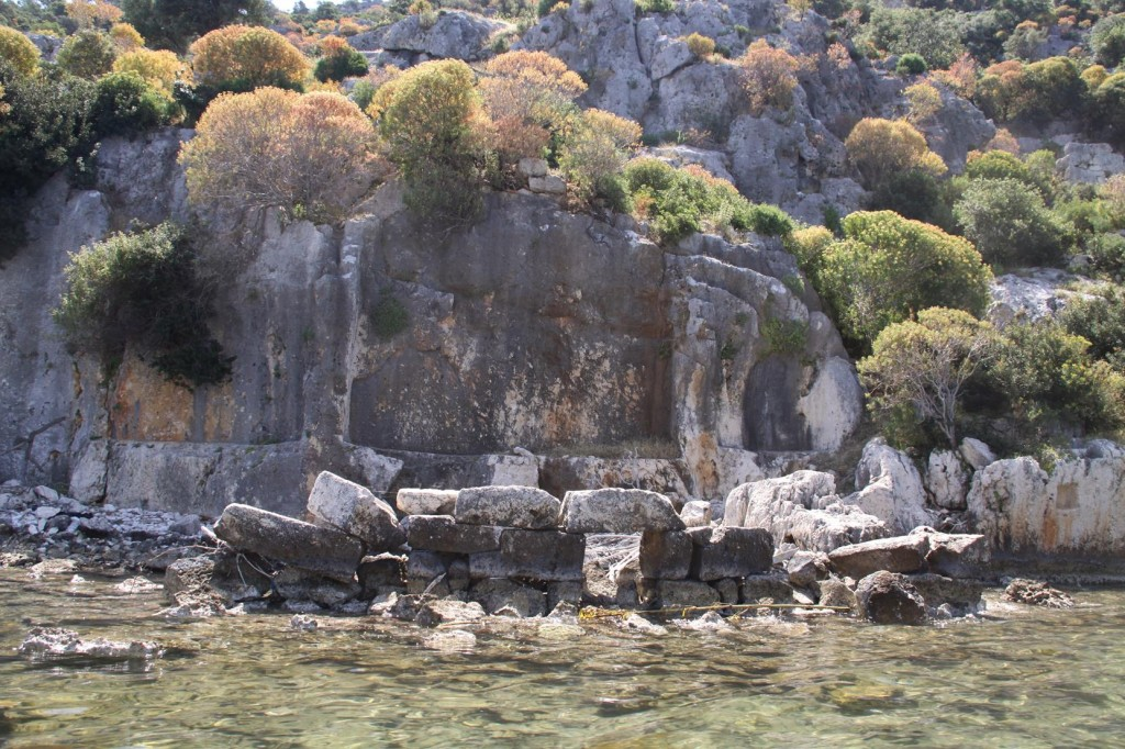 Some of the Remains of the Sunken City Which is Opposite Kale Koy