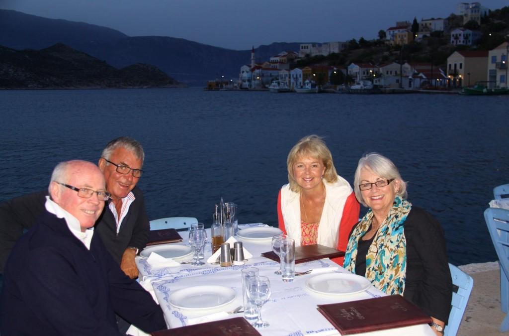 Dinner Tonight at Larzarakis Restaurant