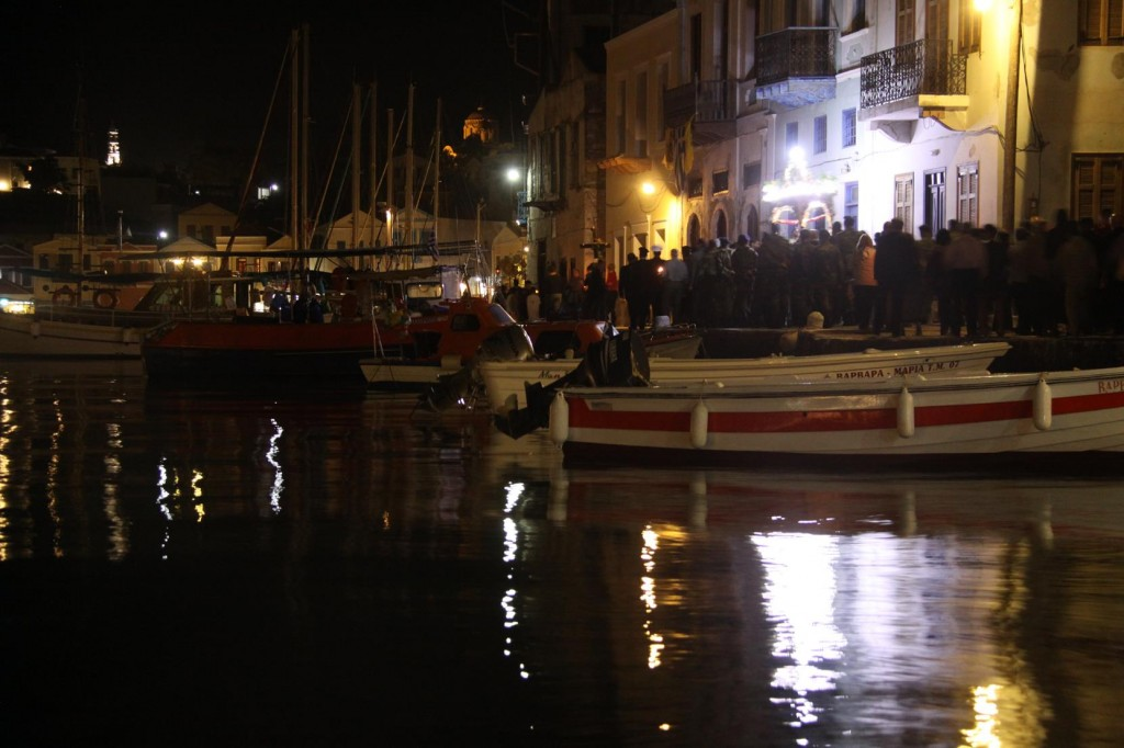 The Traditional Easter Procession Through the Port