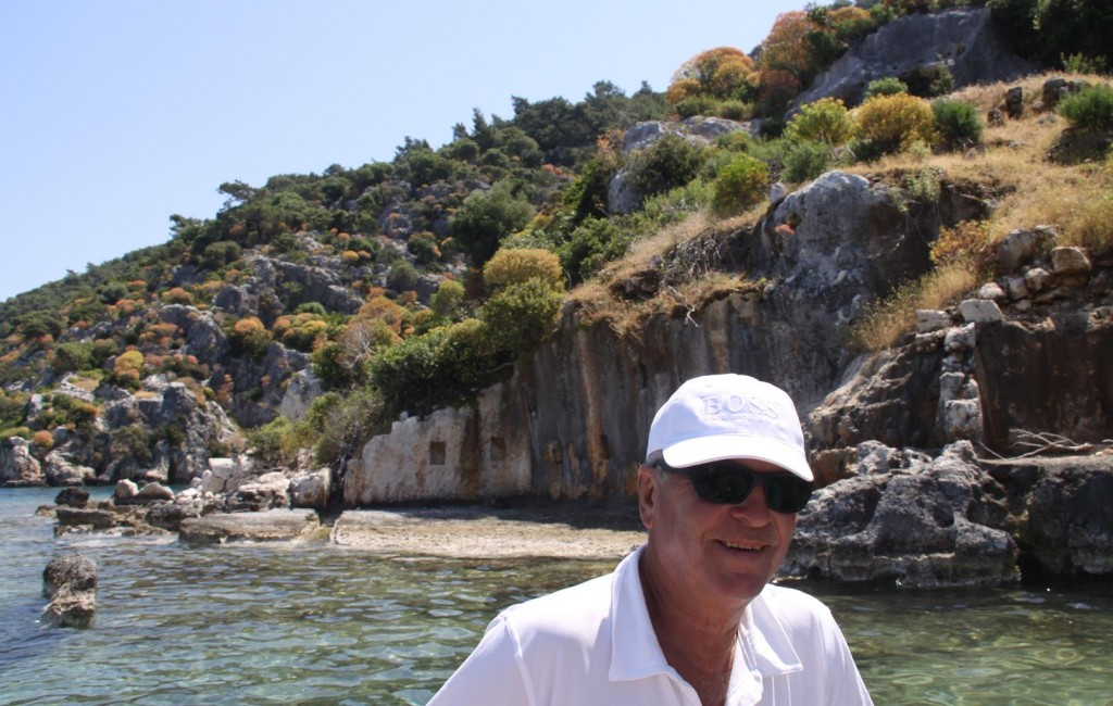 We Viewed the Sunken City by Dinghy