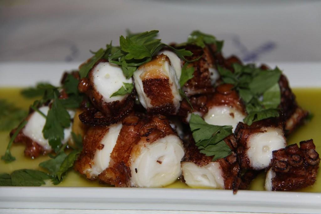 Wonderful Greek Grilled Octopus