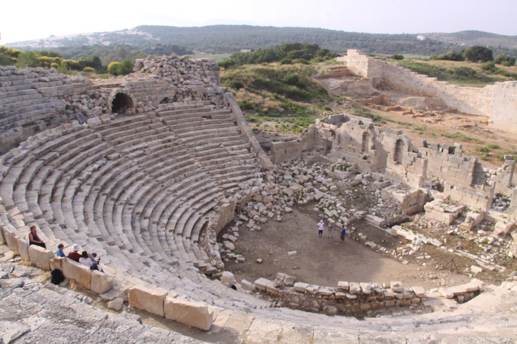 Another Ancient Theatre at the Ancient City of Patara Nearby