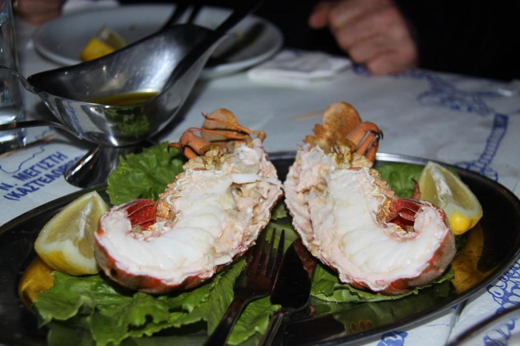 Lobster on the Menu
